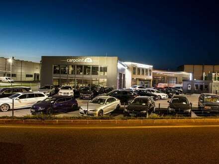Topmodernes Autohaus in einem BusinessCenter