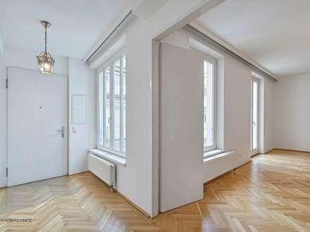 Helle und gut geschnittene 3 Zimmer-Wohnung mit Balkon in Hofruhelage