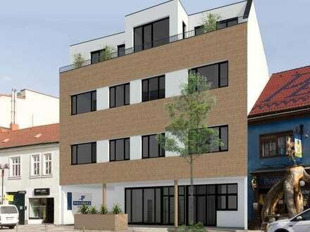 Büro/Geschäfslokal/Ordination, Neubau, Stadtmitte Mattersburg