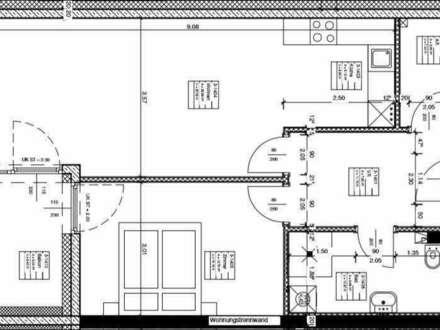 Kramsach Zentrum: Erstbezug, helle 2-Zimmer-Wohnung mit Küche und Balkon