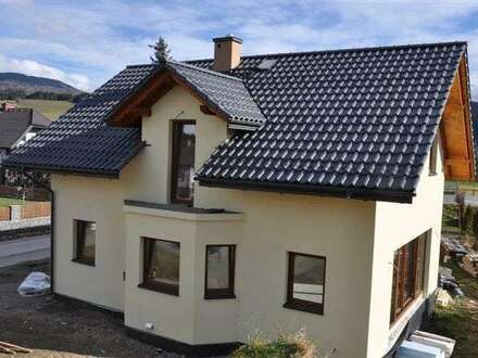 Ein neugebautes Einfamilienhaus zum verkaufen