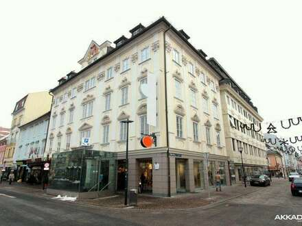 Department store in the city center of Klagenfurt with optional garage