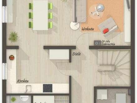 BREITENBACH: Moderne Doppelhaushälfte inkl. Grundstück in schöner und zentraler Lage.