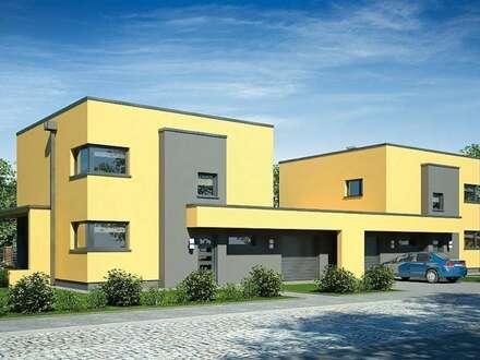 Modernes Doppelhaus in Gablitz
