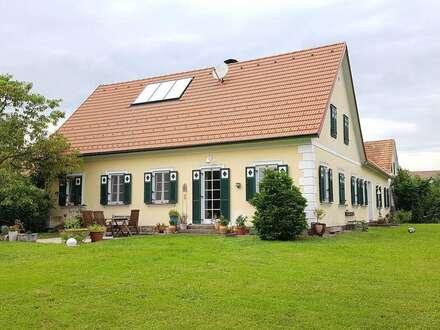 Landhaus mit Gartenteich in der Südoststeiermark