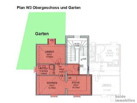 Flachgau Bürmoos: Neue 2 Zi - Wohnung mit Garten zu verkaufen!