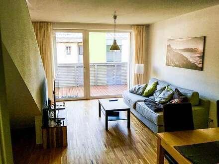 Helle Maisonette-Wohnung in ruhiger, zentraler Lage (provisionsfrei)