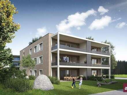Große Gartenwohnung in Mäder