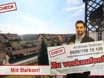3 Zimmer-Wohnung mit Balkon und Carport in Leibnitz!