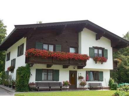 Schöne große Erdgeschoss-Wohnung im Wochenendhaus in wunderschöner Lage – Nähe Fieberbrunn