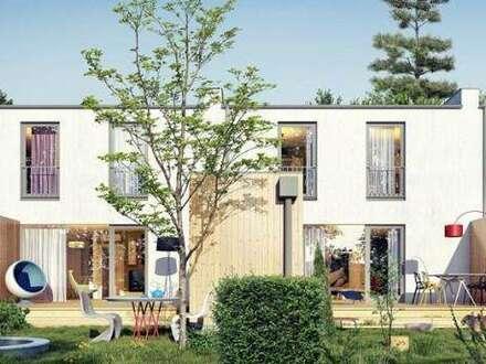 Klagenfurt/Nähe Klinikum: Familienfreundliches Reihenhaus mit Doppelcarport und Gartenanteil