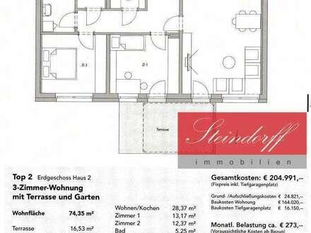 TOP2 Exklusive Neubauwohnung im Herzen von Deutschlandsberg in Ruhelage