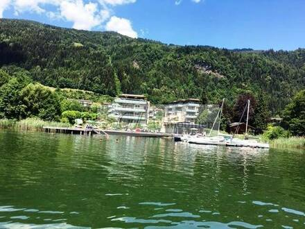 Wohnen, wo Andere Urlaub machen ! Penthousewohnung am Ossiacher See