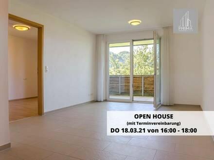 Moderne 2-Zimmer Mietwohnung mit großem Balkon und traumhafter Aussicht