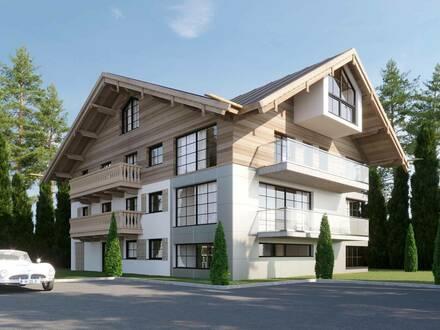 Attraktive und neu sanierte Dachgeschoss-Maisonette-Wohnung mit 2 Balkone in AURACH bei KITZBÜHEL