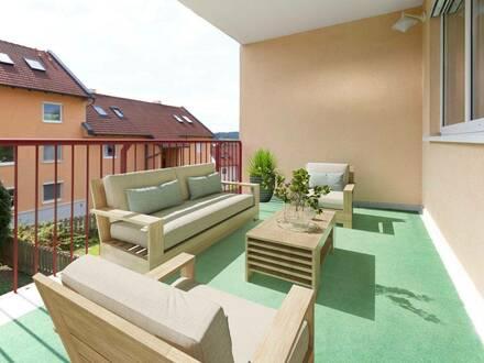 Andritz - ausgezeichnete Ruhelage, mit großer Terrasse und Tiefgaragenplatz
