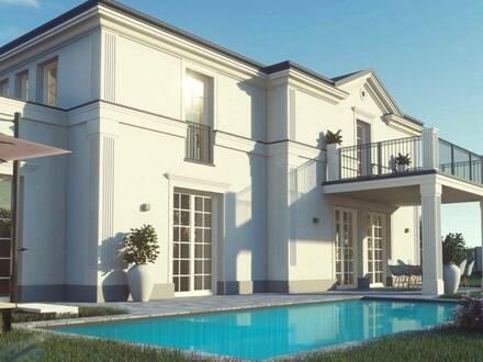 Raus aus der Stadt und grünes Flair mit Stil genießen! Exklusive Villa für gehobene Ansprüche