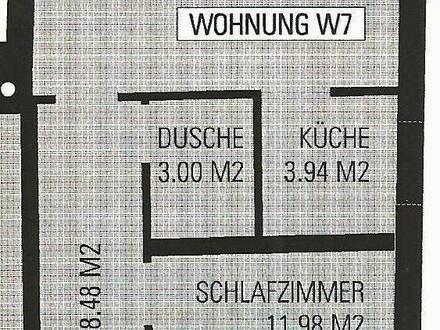 2-Zimmer-Wohnung ab Oktober 2021 zu Vermieten