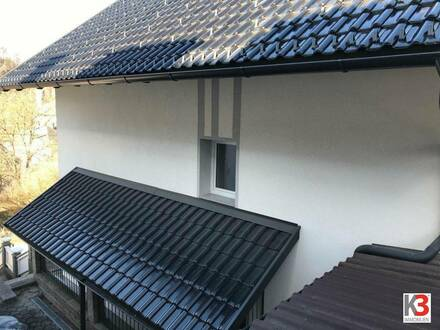 Einfamilienhaus mit wundervoller Aussichtslage auf das Schloss Eberstein - Wandergebiet Saualpe