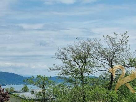 Aussicht auf den Wörthersee! Traumhaftes Penthouse mit (Doppel)Seeblick in Velden am Wörthersee
