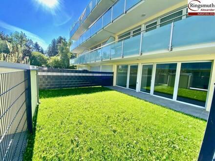 Provisionsfreie Gartenwohnung-Erstbezug- Individuell Gestaltbar und Sie sind in kurzer Zeit in der Stadt!