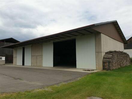 Lagerflächen in Mehrzweckhalle in der Südsteiermark zu vermieten. Nur 1,5km von der Autobahn entfernt!