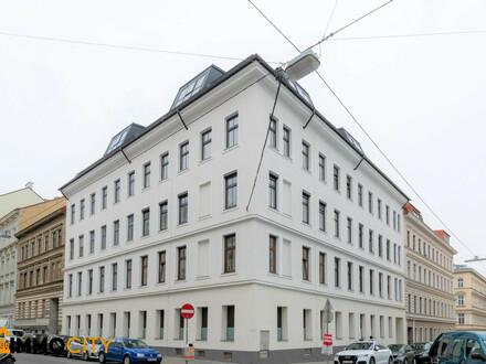 Hoch hinaus in Margareten - Atemberaubender Ausblick über Wien und hofseitige Terrasse! WNF 171,94 m² + Terrasse: ca. 22,59…