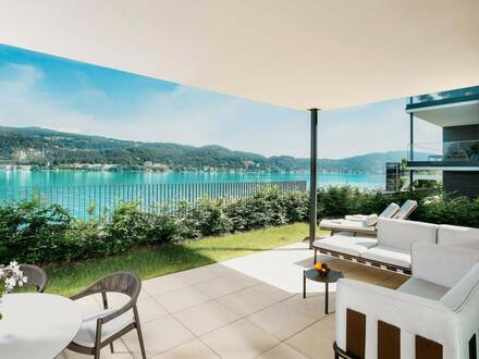 Hermitage Luxury Penthouse Apartment - Rarität direkt am Wörthersee, Golfplatz Dellach und Velden