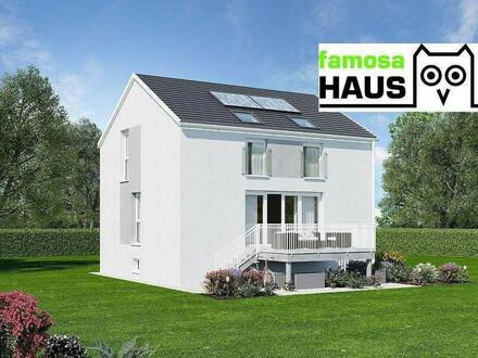 Privater Kaufrücktritt: Famosa Einzelhaus mit 101m² Wfl, 54m² Keller, Terrasse und Eigengrund