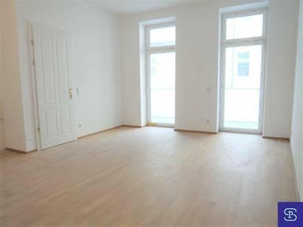 Erstbezug: 94m² Altbau + 11m² Balkon in unbefristeter Hauptmiete - 1070 Wien!