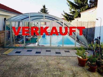 45 min von Wien - 2 Häuser auf einem Grundstück mit Pool zu kaufen !!!!
