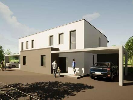Neubau Doppelhaushälfte in Toplage in Spittal an der Drau