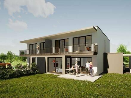 Neubau Doppelhaushälfte in Toplage für das Familiennest in Spittal an der Drau