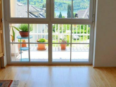 Neuwertige Wohnung in Millstatt mit Blick auf den Millstätter See