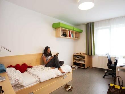Komplett möblierte Einzelzimmer im Technologiepark Villach