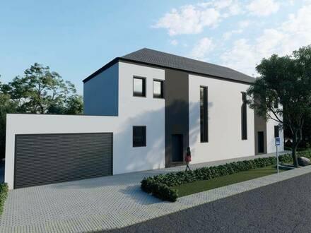 Exklusive Doppelhaushälfte mit Pool und Doppelgarage | 406 m2 großes Grundstück | ruhige Wohnlage