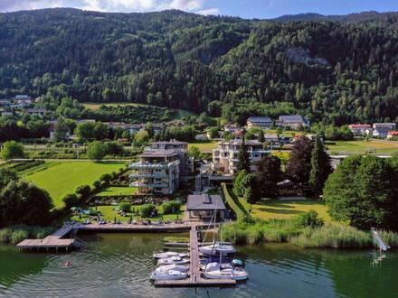 Direkt am Ossiacher See - Nach Westen ausgerichtete Gartenwohnung mit Seeblick (Buy to let)