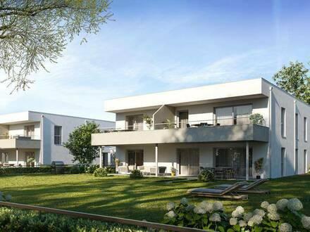 NEUBAUPROJEKT Lochen, Römerstraße - EIGENTUM   Haus E   TOP 1 - EG mit Garten