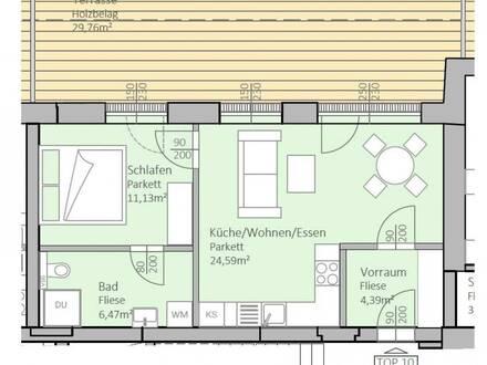 Wunderschöne, neue Seeblick-Wohnung mit 47 m² Wohnfläche und 30 m² Terrasse am Klopeiner See, Top 10, 2.OG - keine Maklerprovision