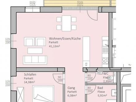 Perfekt aufgeteilte, neue Seeblick-Wohnung mit 79 m² Wohnfläche und 17 m² Terrasse am Klopeiner See, Top 9, 2.OG - keine…
