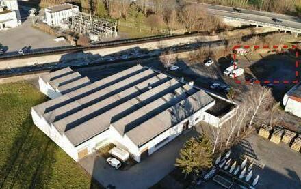 Röthis - Industriezone 6 - befestigte Freifläche (Lagerplatz) mit ca. 500m²