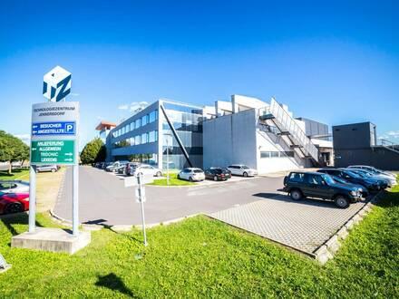 Produktionsflächen (Reinraum, ESD) inklusive Bürotrakt im Technologiezentrum Jennersdorf
