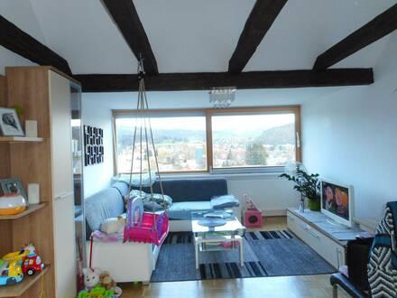 Geförderte 3-Zimmer Dachgeschosswohnung mit traumhafter Aussicht in ruhiger Lage von Köflach!