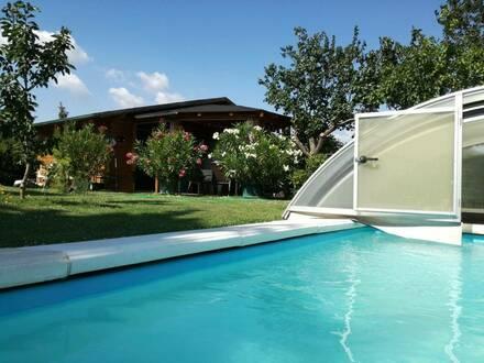 Ferienwohnhaus fernab von Hektik und Stress mit beeindruckendem Panoramafernblick