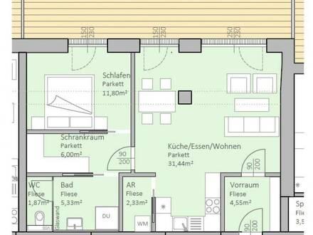 Hochwertige, neue Seeblick-Wohnung mit 63 m² Wohnfläche und 30 m² Terrasse am Klopeiner See, Top 5, 1.OG - keine Maklerprovision