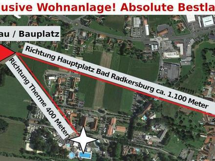 Eckgartenwohnung ! Exclusive Wohnanlage in absoluter Bestlage nähe Therme! A-Top