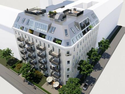 ++Projekt TG 17++ Hochwertiger 2-Zimmer ALTBAU-ERSTBEZUG mit 6m² Balkon, umfassend saniertes Gebäude!