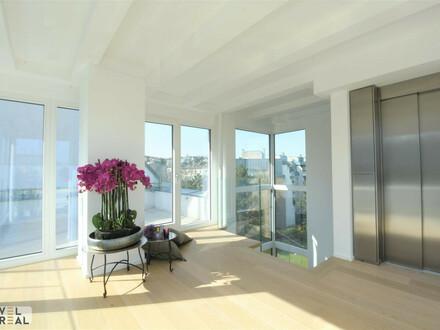 Moderne High-end Villa - zentral angebunden und doch im Grünen - am Fuße des Wilheminenbergs!