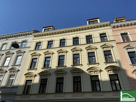 Gemütliche Raumaufteilung! Moderne und helle Dachgeschosswohnung! Sanierter Altbau im 17. Bezirk!