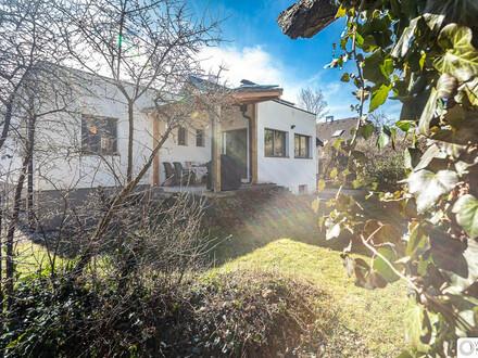 Familienidyll - ankommen, zu Hause sein! Großartiges, modernes Einfamilienhaus - Top ausgestattet, an der grünen Wiener Stadtgrenze…